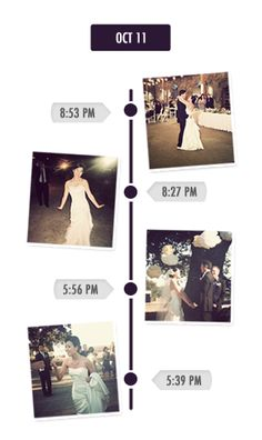 You can create a free app that lets guests post the pictures they take at your wedding/reception and upload them in real time. Pretty nifty!