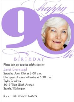 1930s garden party invitations for my 80 year old grandmother milestone 90th birthday bookmarktalkfo Choice Image