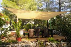Shade Sails Spain - Perfect sun shades, UV protection for your garden, patio or carport in Spain. High quality shade sails, best shade sails Costa Blanca
