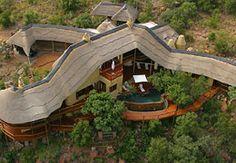 Birds eye view -The luxurious Clifftop Game Lodge. Quote and book  http://www.south-african-lodges.com/clifftop-lodge/index.php