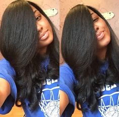 Super hair extensions tape in hairstyles kinky curly ideas Kinky Straight Hair, Kinky Curly Hair, Curly Hair Styles, Natural Hair Styles, Thick Hair, Best Human Hair Wigs, Human Hair Lace Wigs, Weave Hairstyles, Straight Hairstyles