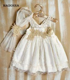 Little Dresses, Girls Dresses, Flower Girl Dresses, Look, Wedding Dresses, Baby, Fashion, Party Fashion, Kids Fashion