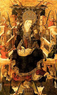 Maria, Reina de los cielos   Blasco de Grañén - España