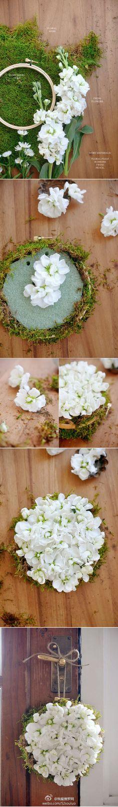 Las gardenias abiertos.  Los bricolaje pleno verano las flores decoradas Compartir tutorial
