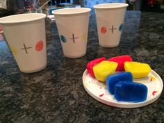 Marissa's Mommy Moments: Colour Mixing (Part 1)