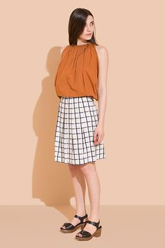 THIS Is How To Dress At Work #refinery29  http://www.refinery29.com/stylish-work-outfits#slide6  Rachel Comey's relaxed-fit bermudas can easily pass for a skirt...until your coworkers see you take a lap around the office. Surprise!