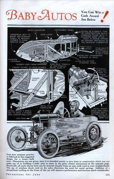 A cool how to build a simple cycle-car.