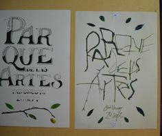 VINCARLOS, GUERRERO y EGUREN. TP#3 Letras hechas a mano - Tipografía III Expresiva - FAD - UNCuyo