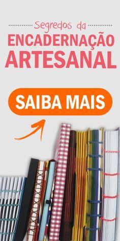 Tudo sobre #encadernação #artesanal. Veja nesse livro definitivo via @arte_papel Handmade Notebook, Diy Notebook, Handmade Journals, Handmade Books, Book Repair, Diy Shows, Book Binding, Smash Book, Book Crafts