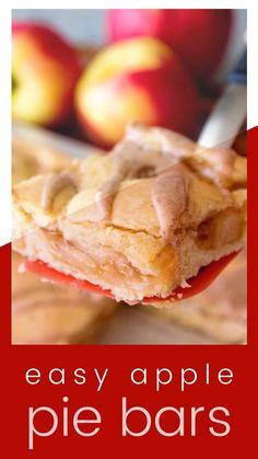 Best Apple Recipes, Fall Recipes, Sweet Recipes, Favorite Recipes, Cookie Recipes, Snack Recipes, Dessert Recipes, Snacks, Yummy Bars Recipe