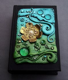Spring Breeze Book Box by MandarinMoon, via Flickr