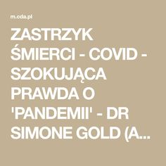 ZASTRZYK ŚMIERCI - COVID - SZOKUJĄCA PRAWDA O 'PANDEMII' - DR SIMONE GOLD (AFD) NAPISY PL Calm