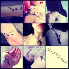 bird tattoos | Tattoo Ideas Central