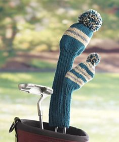 Ravelry: Golf Club Covers pattern by Cindy Craig