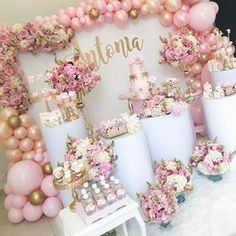 cheap this week Exalted cut quinceanera party decorations Hurry! cheap this week Girl Baby Shower Decorations, Birthday Party Decorations, Baby Shower Themes, Wedding Decorations, Birthday Parties, Shower Ideas, Quinceanera Decorations, Balloon Decorations, Quinceanera Party
