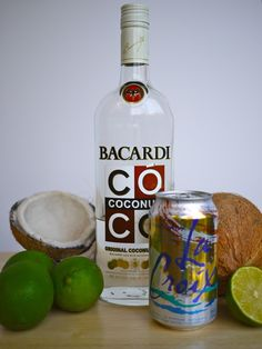 """""""Lime in 'da Coconut"""" Summer Spritzer 