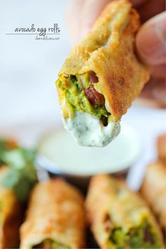 Cheesecake Factory Avocado Egg Rolls -