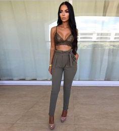 New Women's Fashion Solid Casual Summer Pants Elastic High Waist OL Ladies Office Wear Long Trousers Skinny Harem Pants 7 Colors
