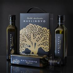 Packaging of the World: Creative Package Design Archive and Gallery: Maslinovo (Student Work)