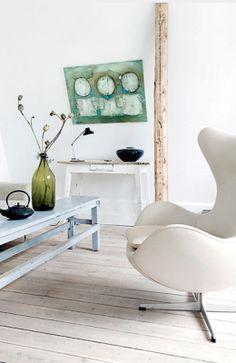egg chair regardsetmaisons: Architecture
