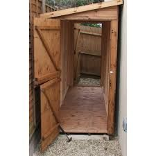 Now this is where you need a narrow shed sheds4less for Narrow storage shed
