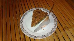 Raw jablečný koláč