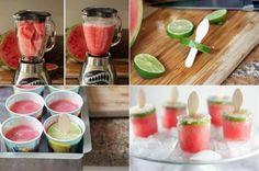 MeloneneisEinfach eine Melone pürieren und, wer es süß mag, ein wenig Zucker (auf 1kg ca. 125g Zucker) untermischen. Anschließend die Masse in einen Eisbecher geben und ab damit in's Gefrierfach. Lasst euch erfrischen