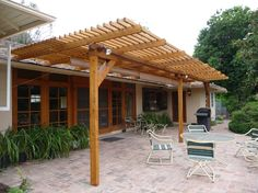 20 beautiful covered patio ideas - Wood Patio Ideas
