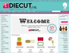 iDiecut.com-a site for buying shapes for your Silhouette