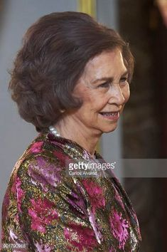 Queen Sofia attends the Pascua Militar ceremony at the Royal Palace on January 6 2018 in Madrid Spain