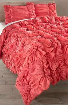 Rizzy Home Ruched Knots Comforter (Nordstrom Exclusive) available at #Nordstrom