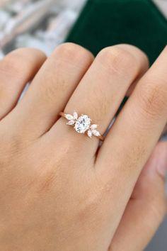 Buy Engagement Rings | Wedding Bands | Necklaces | Bracelets | Bridal Set Call/WhatsApp: +1(929)560-3949 Email: hello@briobella.com #engagementrings #wedding #weddingbands #weddingrings #diamond #diamondrings #diamondring #rings #gia #naturaldiamond #briobella #jewelry #finejewelry #jewellery #moissanitediamond #moissaniterings #moissaniteengagementrings #love #shesaidyes #engaged #unitedstates #newyork #proposering #propose #goldrings #goldjewelry Oval Shaped Engagement Rings, Perfect Engagement Ring, Engagement Bands, Vintage Engagement Rings, Vintage Rings, Diamond Engagement Rings, Moissanite Diamond Rings, Marquise Diamond, Bridal Ring Sets