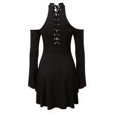 Piper Hexerei korte jurk met corset vete