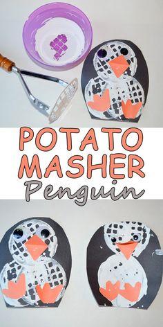 Potato Masher Penguin – HAPPY TODDLER PLAYTIME