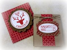 Another Chance to Stamp:  Gift card with matching envelope