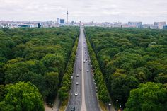 Climb the Siegesäule for a view over Berlin's Tiergarten
