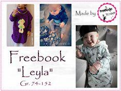 "Livre gratuit - ""pull poncho Leyla"" - Freestyle Rocker - Fortune."