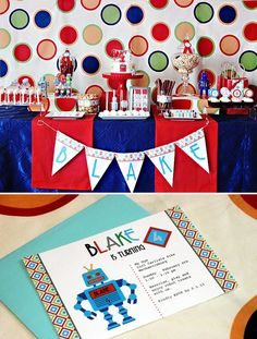 Modern+Robot+Birthday+Party+++Free+Printables!