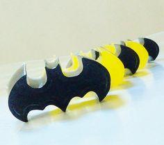 30 BULK MINI BATMAN Soaps - Choose Scent & Color, superhero, bat, comic book, diy party favors, natural, glycerin, birthday, kids on Etsy, $22.00