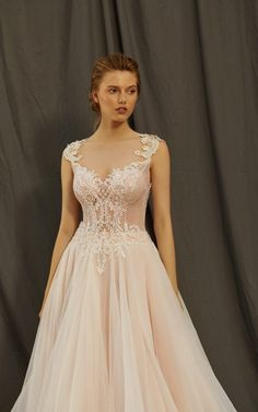 MAXIMA - suknia 3418 - Evita Loki, Wedding Dresses, Fashion, Bride Dresses, Moda, Bridal Gowns, Fashion Styles, Weeding Dresses, Wedding Dressses