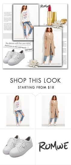 """""""Romwe 2/10"""" by dilruha ❤ liked on Polyvore"""