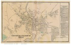 Essex County MA Single Map Reprints