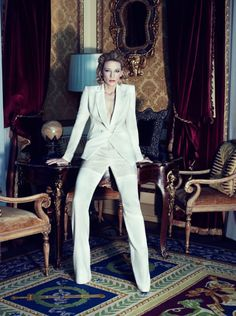 Cate Blanchett by Alexi Lubomirski for Harper's Bazaar UK April 2012