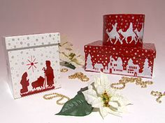 Cajas navideñas   Utilisima