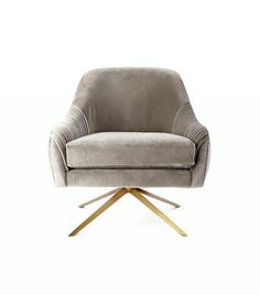 West Elm Swivel Chair