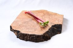 Burl Burst, Extra Thick, Wood Cutting Board by Red Onion Woodworks