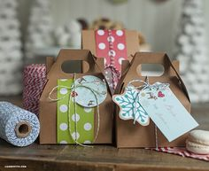 Cookie exchange party packaging ideas