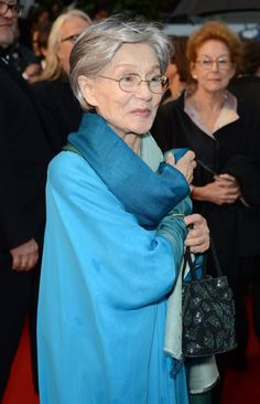 Emmanuelle Riva, 85, stars in the new film Amour.