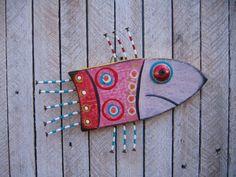 Folk Fish via Etsy.