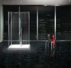 Product image for Matki Freestanding Walk-In Four Sided Shower Enclosure